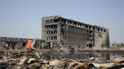 60 still missing after Tianjin blasts