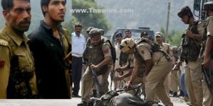 Live jammu srinagar highway terrorists ambush bsf convoy 2 jawans killed