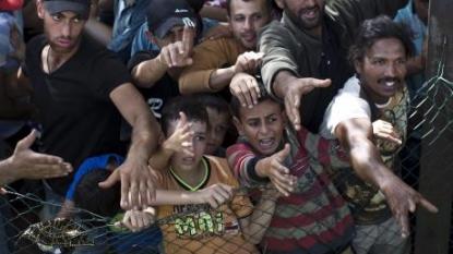 Over 17 000 migrants enter Croatia