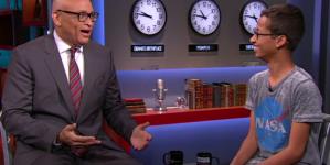 Ahmed Mohamed Talks Clocks, Doing Backwards 'Nae, Nae' On 'Nightly Show'