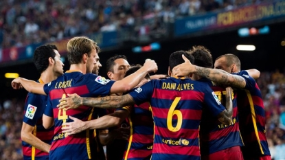 Luis Suarez golazo delivers Champions League win for Barcelona