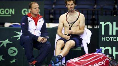 Andy Murray faces Thanasi Kokkinakis in Davis Cup semifinal