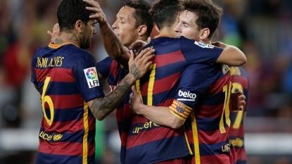 Messi, Neymar score as Barca beat Levante