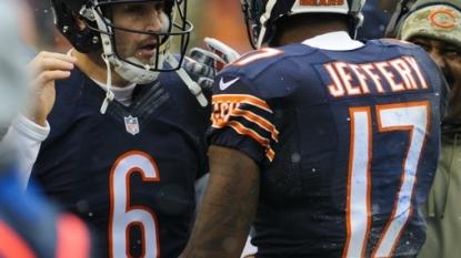Bears rule Jay Cutler, Alshon Jeffery out vs. Seahawks