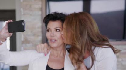 Caitlyn Jenner Kisses Kris After Making Up on 'I Am Cait'