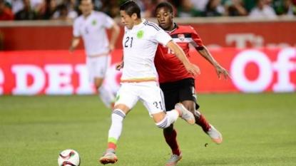 Mexico salvages 3-3 tie with Trinidad and Tobago