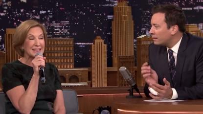 Carly Fiorina compares Donald Trump to Vladimir Putin on 'Tonight Show'