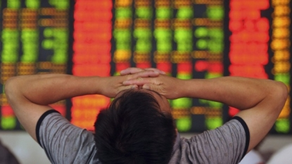Market turmoil Chinese stocks tumble on weak economic data