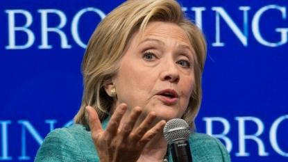 Clinton jokes with Jimmy Fallon after GOP debate