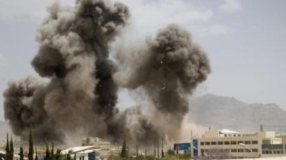 Coalition denies hitting wedding hall in Yemen