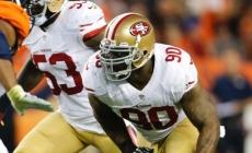 Darnell Dockett released by 49ers