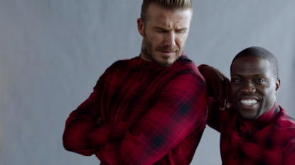 David Beckham and Kevin Hart team up for H&M campaign