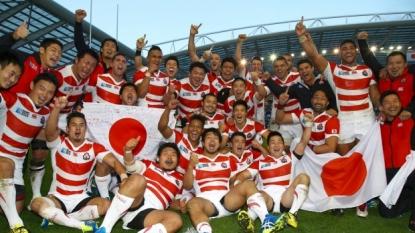 Japan eye World Cup quarter-finals after slaying the Springboks
