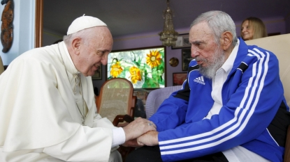 Images Show Intimate Meeting Between Pope Francis and Fidel Castro