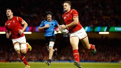 Injured: Allen facing World Cup heartbreak for Wales
