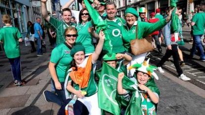 Ireland rings starting XV changes