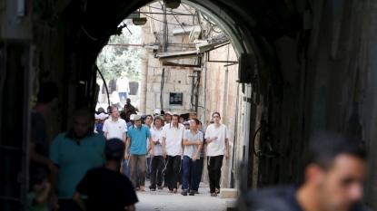 Israeli troops clash with Palestinians at Al Aqsa