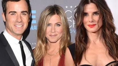 Jennifer Aniston, Justin Theroux double date with Sandra Bullock, new