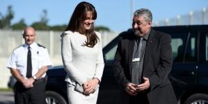 HRH The Duchess of Cambridge visits HMP Send