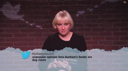 Lena Dunham avoids using Twitter