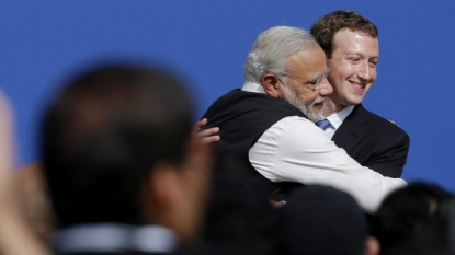 Livestream: Watch Narendra Modi's townhall at Facebook HQ