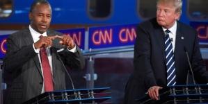 Ben Carson closes in on Donald Trump in latest poll