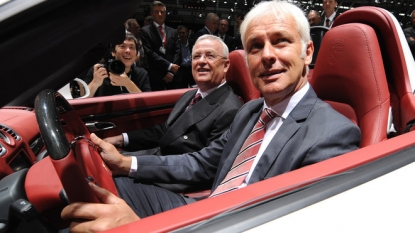 Matthias Mueller named Volkswagen chief executive