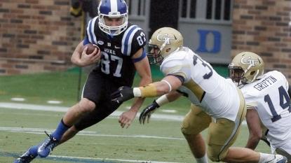 Duke's defense stifles No. 20 Georgia Tech for 34-20 win