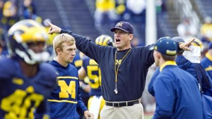 Michigan beats UNLV 28-7; 2nd straight win under Harbaugh