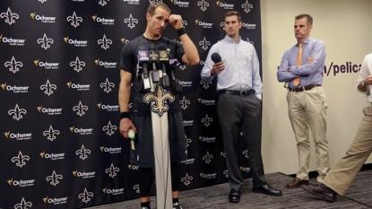 New Orleans Saints' Drew Brees faces lingering questions