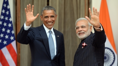 Obama, Modi discuss climate change in meeting at UN