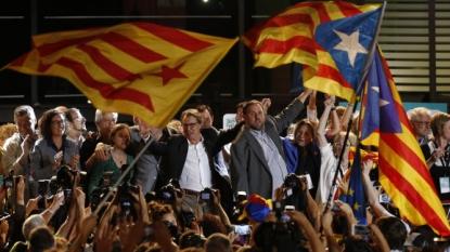 Parties seeking break from Spain gain majority in Catalonia's Parliament