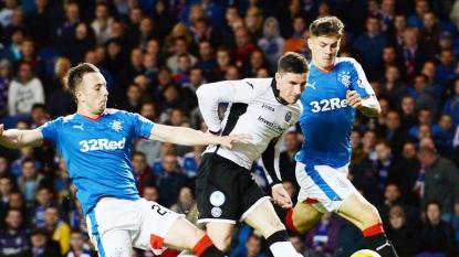 Rangers boss Mark Warburton revels in thumping win over Morton as side