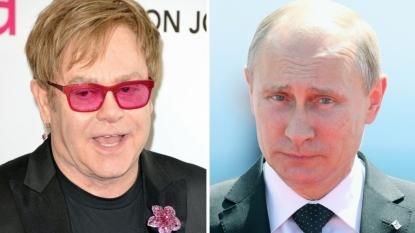 Hear Elton John Get Pranked by Russian Comedians Pretending to be Putin