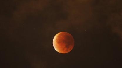 Supermoon, lunar eclipse combine for rare event