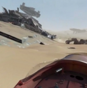 Speed through Jakku with a new The Force Awakens 360 video