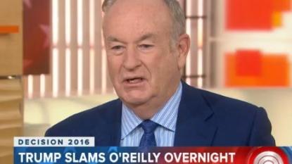 Trump's newest feud: Bill O'Reilly