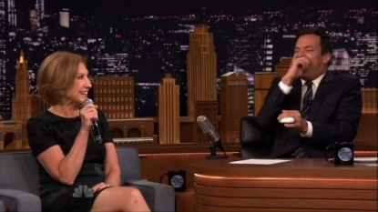 Watch Carly Fiorina Sing a Song About Her Dog, Snickers, with Fallon