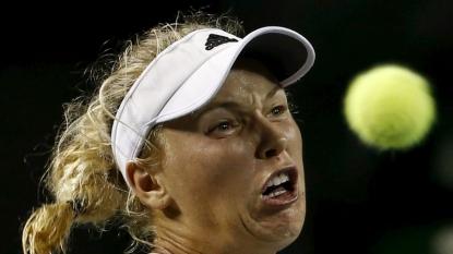 Wozniacki through to last eight in Tokyo