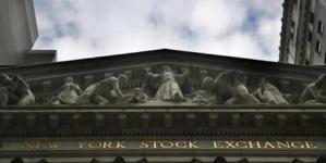 U.S. stocks end bruising quarter on happy note