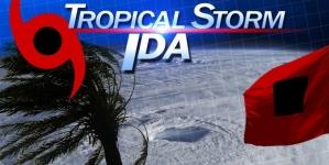 Tropical Storm Ida changes direction in Atlantic