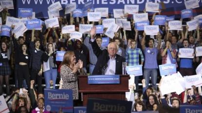 Bernie Sanders making campaign swing through Massachusetts