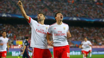 Benfica Take Top Spot Over Atletico