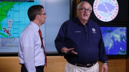 """Catastrophic flash floods"" soak the East Coast"