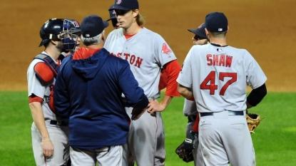Corey Kluber: Red Sox strike out nine times versus Kluber