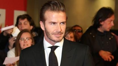 David Beckham to return to football 9:23AM