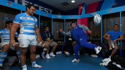 Half-Time Report: Argentina in control against Tonga