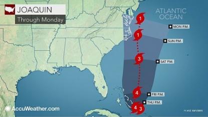 Hurricane Joaquin National Hurricane Center Update: East Coasters 'Should Not