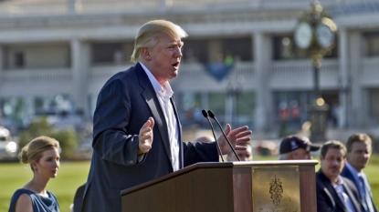 In shadow of campaign shakeup, Bush tears into Trump