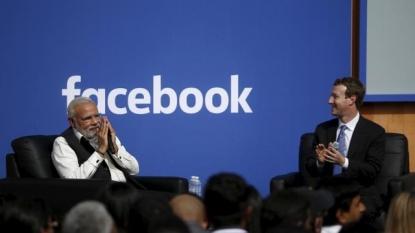 Indian Prime Minister Narendra Modi visits Silicon Valley
